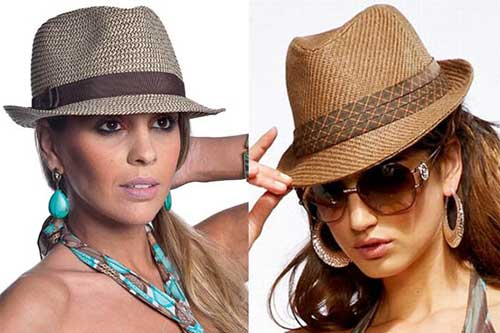 Como usar chapéu de praia