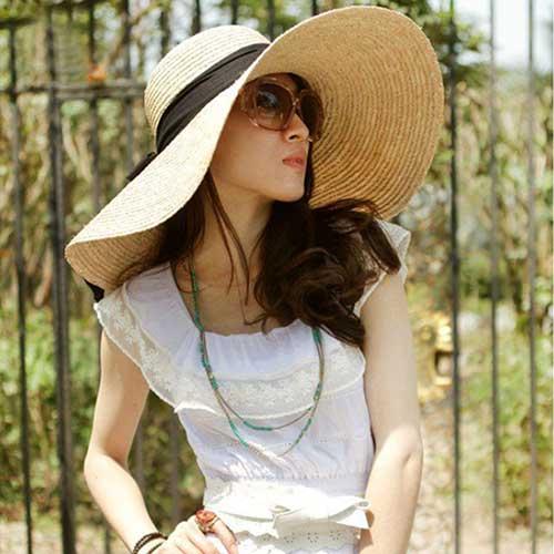Fotos de chapéu de praia