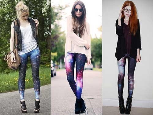 como usar calças galaxy
