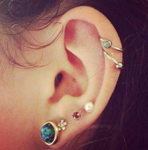 dicas de piercings na orelha