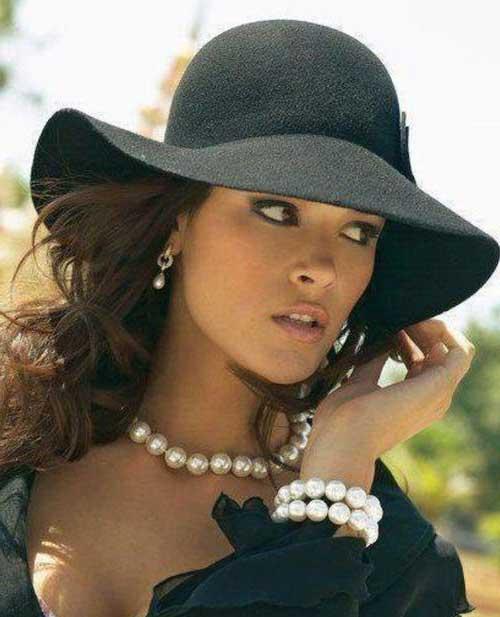 chapéu preto