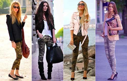 moda feminina nas calças