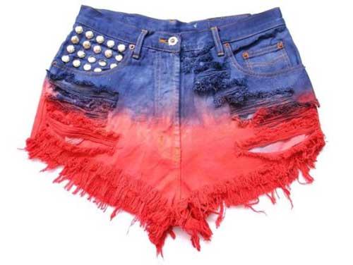 fotos de shorts coloridos