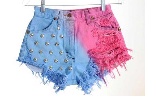 shorts coloridos