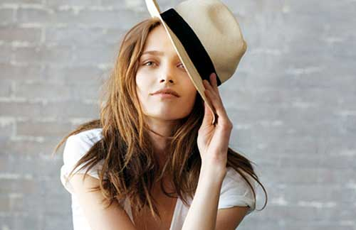Modelos de chapéu de praia