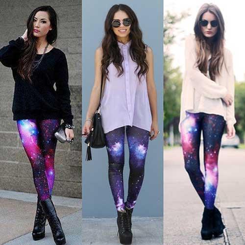 fotos de calças galaxy