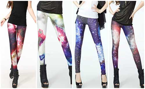 modelos de calças galaxy