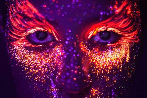 Tutorial Como Fazer Maquiagem Neon Passo A Passo