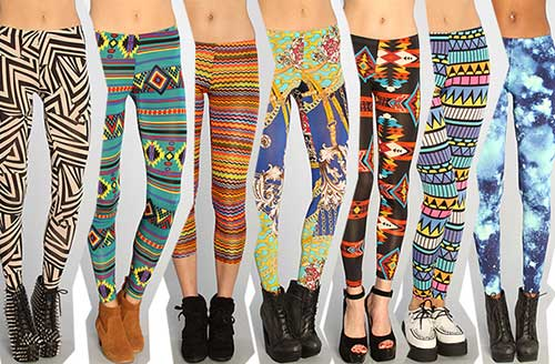 legging colorida