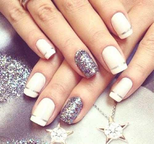 branco e prata