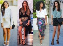 modelos da moda