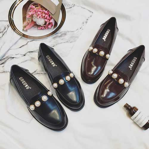 calçados da moda executiva